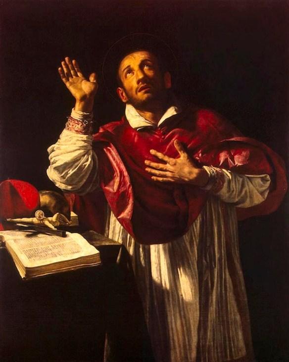 Saint Charles Borromeo, by Orazio Borgianni (source)