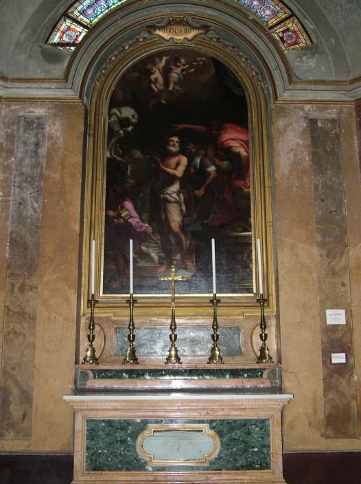 Saint Saturninus altar, in the Basilica of Saints John and Paul, Rome (source)