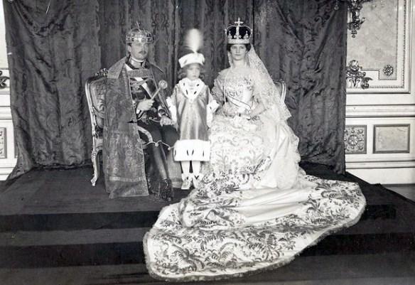 Archduke Rudolph's parents, Blessed Emperor Karl and Empress Zita
