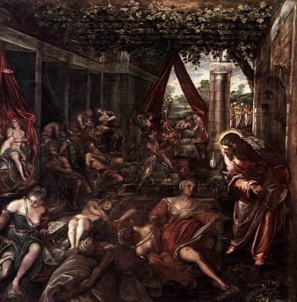 """""""Probatica Piscina"""" by Tintoretto"""