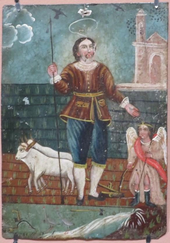 Saint Isidore the Farmer by Donaciano Aguilar