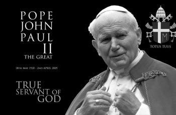 John Paul II 'The Great Pope'