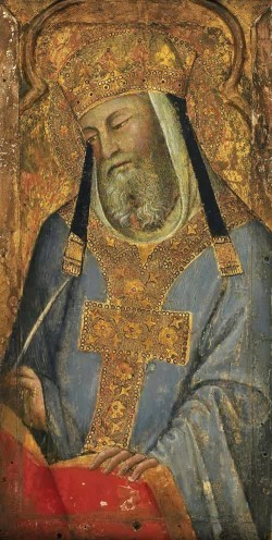 Pope Saint Gregory the Great by Bartolo di Fredi