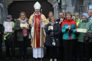 Bishop Denis Nulty confession leaflet