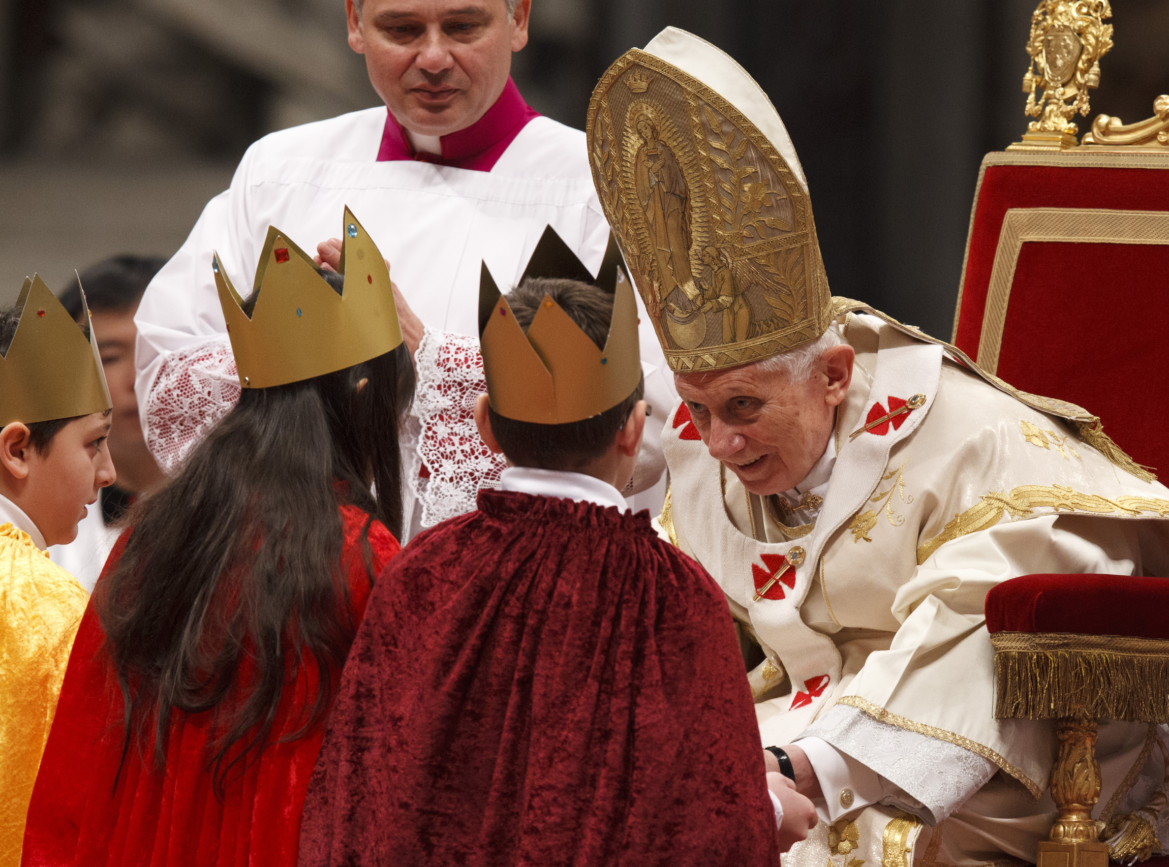 Papal blessing certificate for 50th wedding anniversary