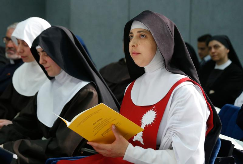 Men Vatican Calendar Nuns