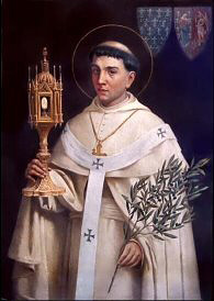 St Norbert with the Eucharist