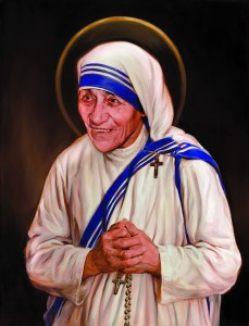 Mother Teresa Canonization Painting