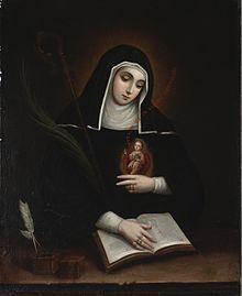 saint_gertrude_by_miguel_cabrera