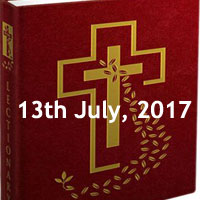 Thursday of the Fourteenth Week in Ordinary Time -Reading of the Day Catholic, daily mass readings reflections, scripture readings for catholic mass
