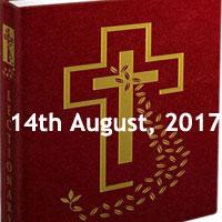 Memorial of Saint Maximilian Kolbe, Priest and Martyr - Monday Readings