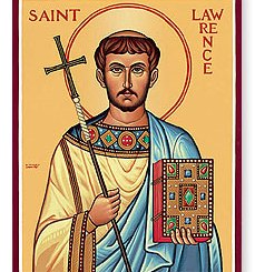 Saint Lawrence, Deacon and Martyr