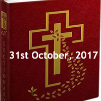 Tuesday of the Thirtieth Week in Ordinary Time - Tuesday Catholic Readings bible scriptures for the day, catholic meditation, Tuesday missal readings