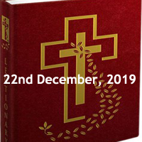 Catholic Daily Readings for 22nd December 2019, Fourth Sunday of Advent, Year A - Sunday Homily