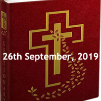 Catholic Daily Readings for 26th September 2019, Thursday of the Twenty-fifth Week in Ordinary Time Year C - Daily Homily