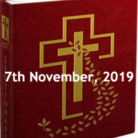 Catholic Daily Readings for 7th November 2019, Thursday of the Thirty-first Week in Ordinary Time Year C - Daily Homily