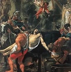 Saint John Before the Latin Gate