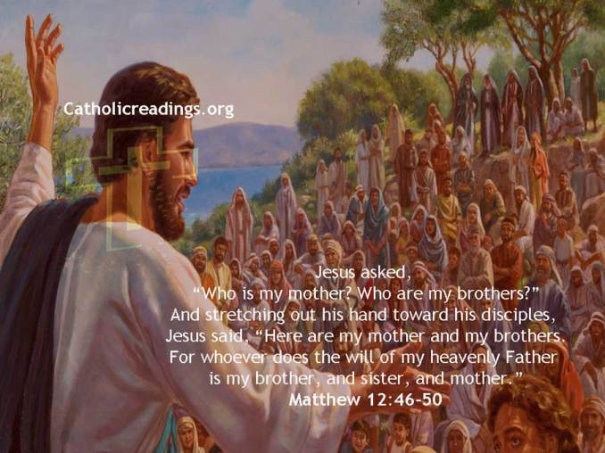 Who is my mother? Who are my brothers? - Bible Verse of the Day