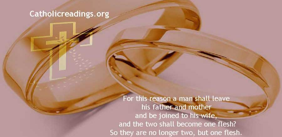 What God Has Joined Together, Man Must Not Separate - Bible Verse of the Day