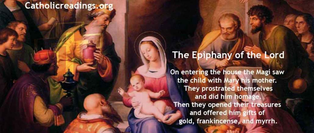 The Epiphany of the Lord - Matthew 2:1-12 - Bible Verse of the Day