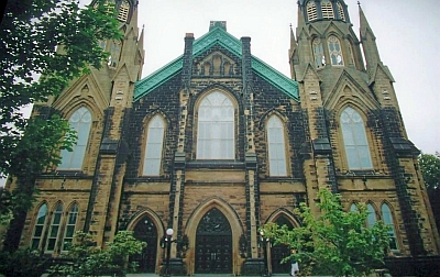 Saint Dunstan's Cathedral Basilica, Diocese of Charlottetown, Prince Edward Island, Canada; swiped from Wikimedia Commons