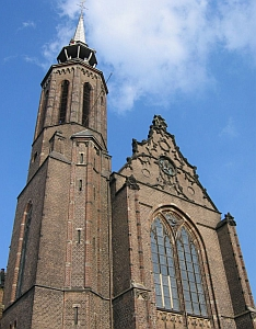 Cathedral of Saint Catherine, Archdiocese of Utrecht, Netherlands; photographed by Fruggo on 1 January 2005; swiped off the Wikipedia web site