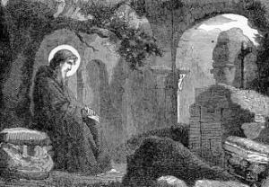 [Pictorial Lives of the Saints: Saint Felix of Valois]