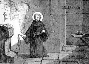 [Pictorial Lives of the Saints: Saint James of La Marca of Ancona]