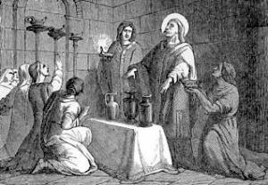 [Pictorial Lives of the Saints: Saint Narcissus, Bishop]