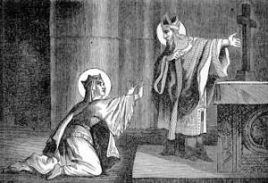 [Saint Radegundes, Queen]