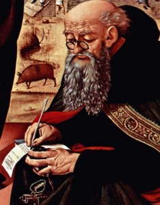 [Saint Anthony the Abbot]