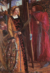 [Saint Catherine of Alexandria]