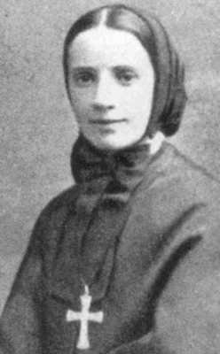 photograph of Saint Frances Xavier Cabrini
