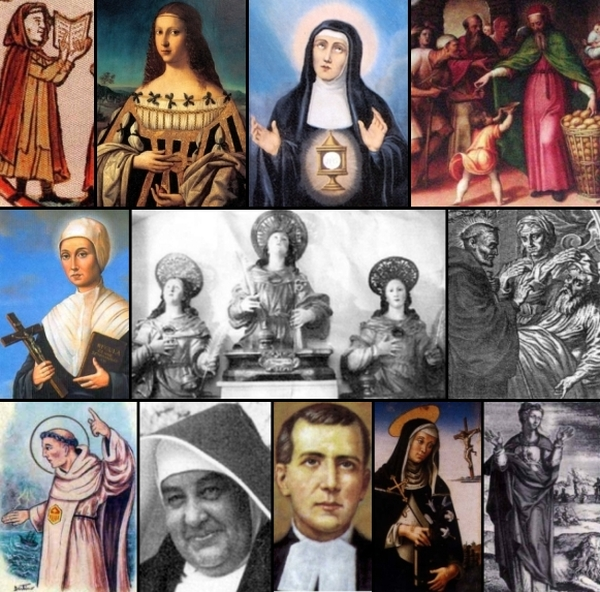 some of the saints and beati celebrated on 18 January