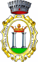 coat of arms for Atina, Italy