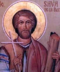 sveti Saba Got - lektor in mučenec