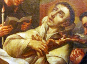 Saint Salvator of Horta on his death bed
