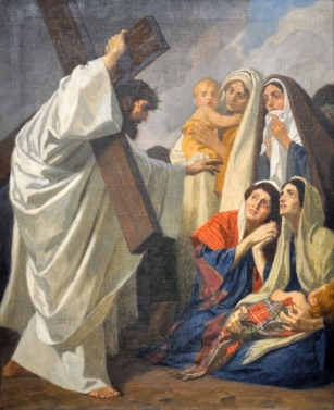 Eighth Station - Jesus Comforts the Women of Jerusalem