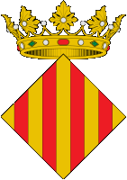 coat of arms for Xativa, Spain