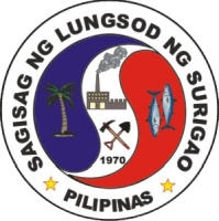 city seal of Surigao City, Philippines