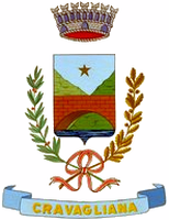 coat of arms for Cravagliana, Italy