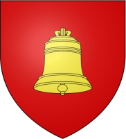 coat of arms for Saint-Astier, Dordogne, France