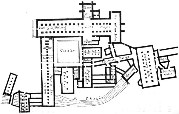 Fountain abbey plan