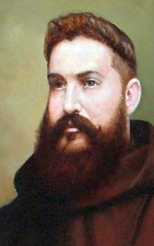 portrait of Blessed Alejandro Más Ginester, date and artist unknown; swiped from Santi e Beati