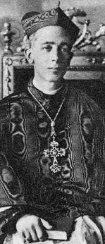 1930 photograph of Blessed Alfredo Ildefonso Schuster