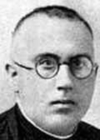 photograph of Blessed Antonio Silvestre Moya, date, location and photographer unknown; swiped from Santi e Beati; click for souce image