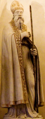 photograph of a statue of Blessed Bartholomew of Vicenza, Church of Santa Corona, Vicenza, Italy; sculptor unknown; photographed on 3 May 2013 by Claudio Gioseffi; swiped off Wikipedia
