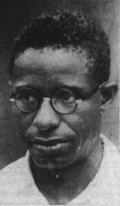 photograph of Blessed Cyprian Michael Iwene Tansi, taken in 1949, photographer unknown; swiped off the Franciscan Brothers' web site