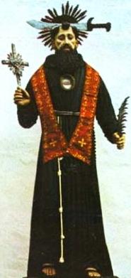 statue of Blessed Daniele di Calabria, date and artist unknown; swiped from Santi e Beati