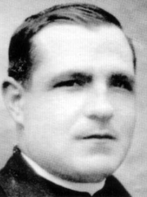 photograph of Blessed Félix González Bustos, date, location and photographer unknown; swiped from Santi e Beati